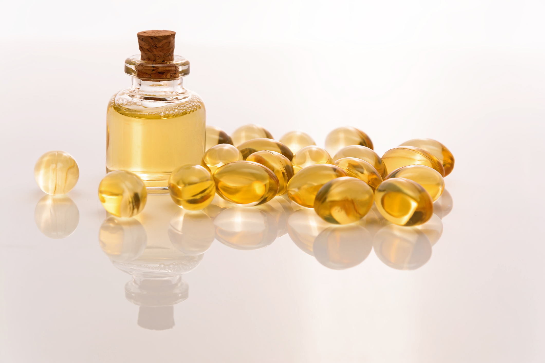 fish oil tablets and liquid