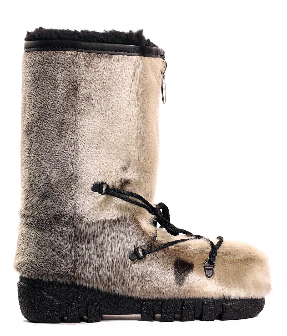 Natura Seal Fur Boots_Bilodeau Canada