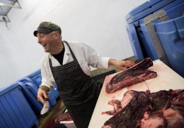 Réjean transformation de viande de phoque