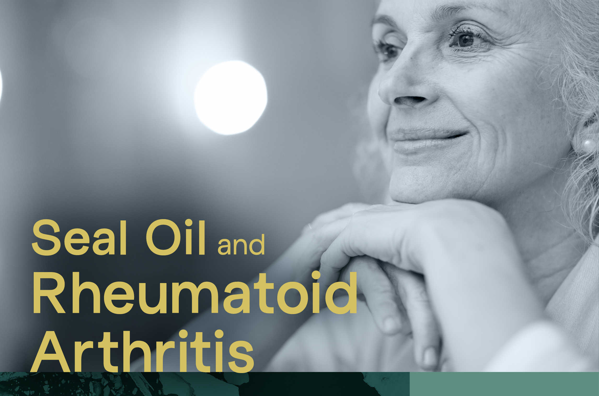 Seal Oil and Rheumatoid Arthritis